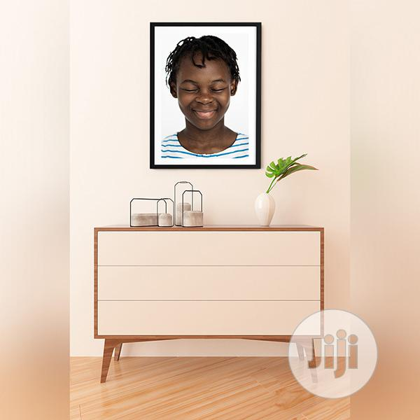 HD Framed Bolutife Wall Painting Picture Art Design | Arts & Crafts for sale in Ajah, Lagos State, Nigeria