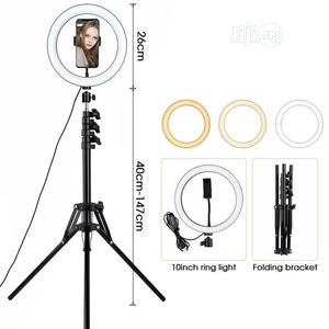 Ring Light With Tripod Selfie Ring Light   Accessories & Supplies for Electronics for sale in Lagos State, Ikoyi