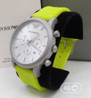 Emporio Armani Rubber Strap | Watches for sale in Lagos State, Magodo
