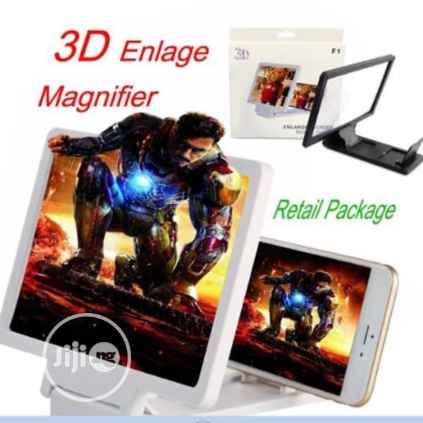 Portable 3D Screen Magnifier Bracket