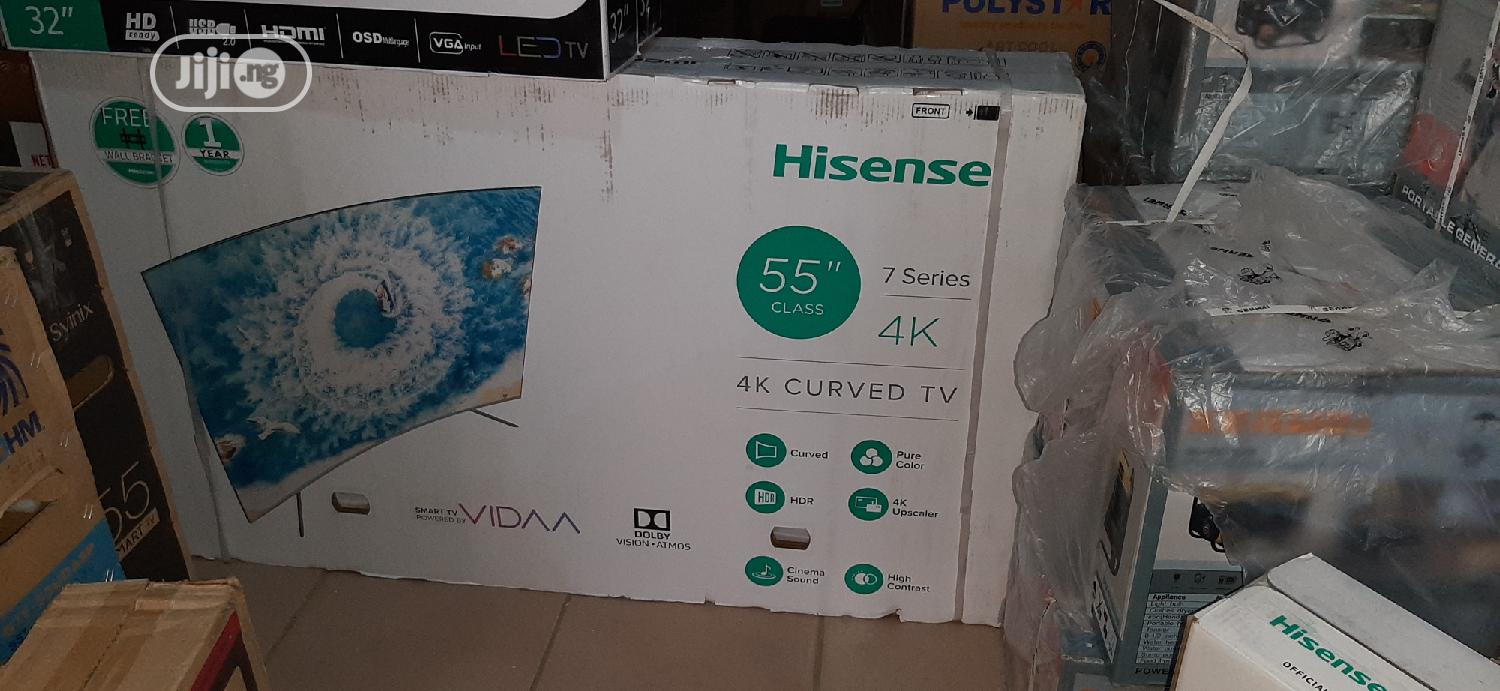Hisense LED 55inches Smart Curved