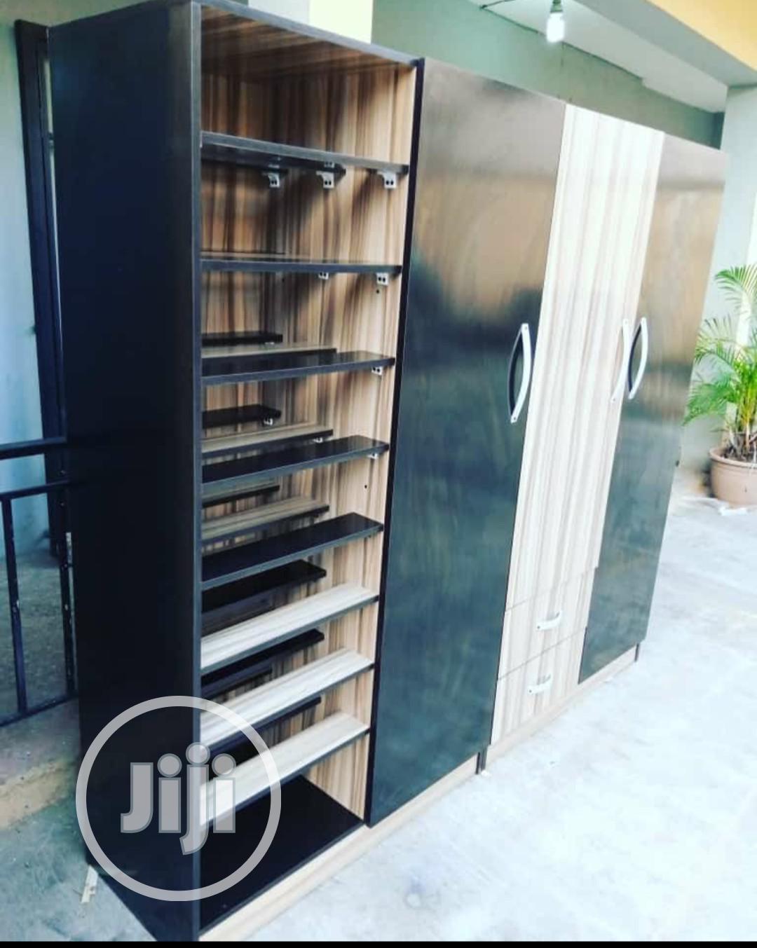 Wardrobe and Shoe Rack | Children's Furniture for sale in Ifako-Ijaiye, Lagos State, Nigeria