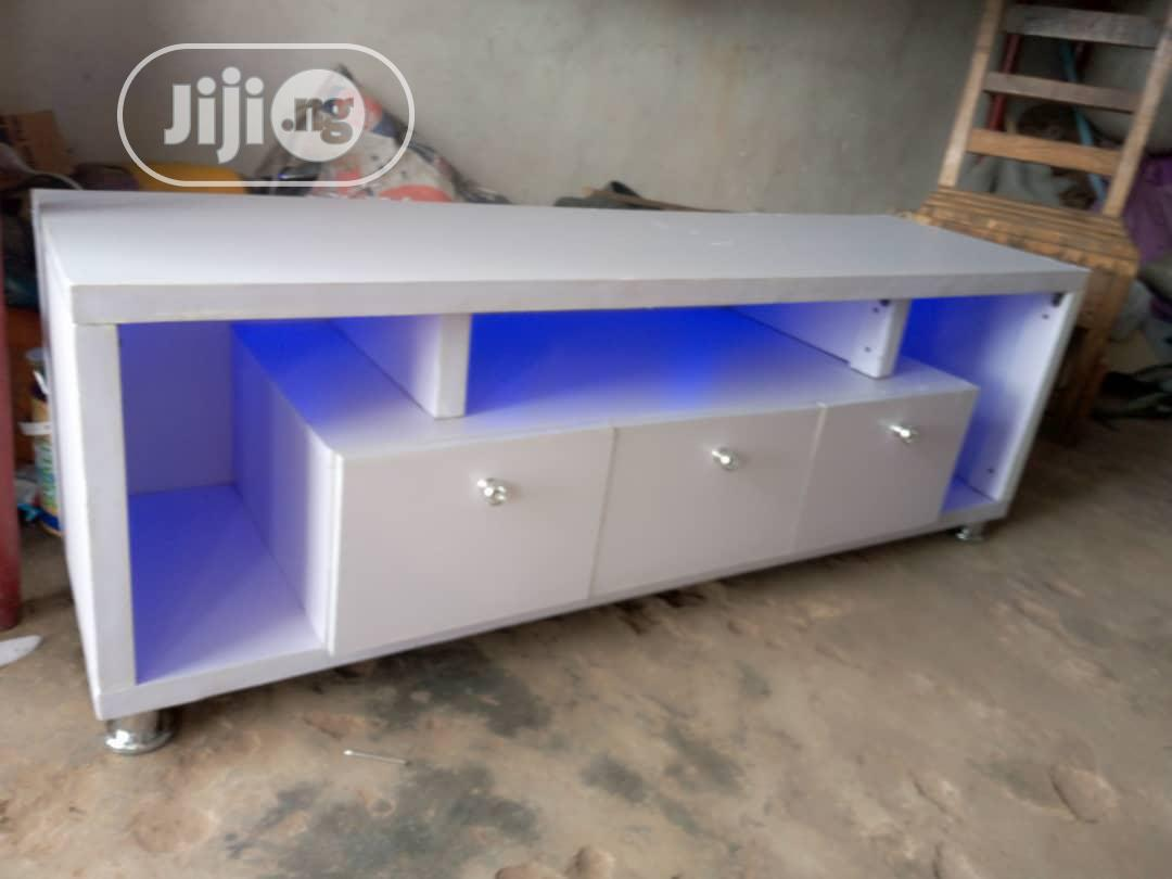 Shap Tv Stand With Light