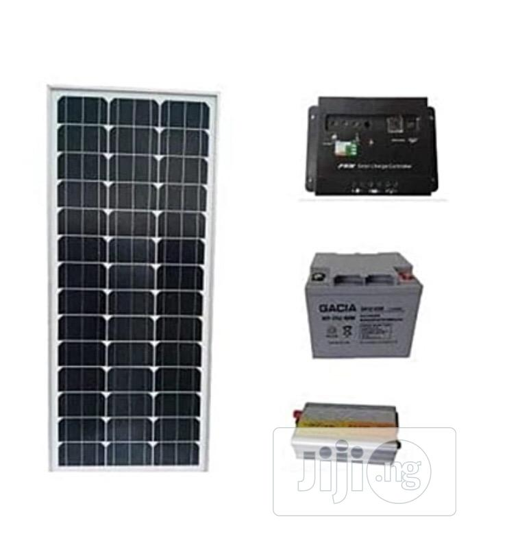 2kva Inverter + 210AH Battery + 300W(2x150w) Solar Panels