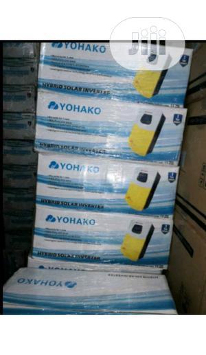 3.5kva 24v Yohako Hybrid Inverter With 60A Mppt   Solar Energy for sale in Lagos State, Ikeja