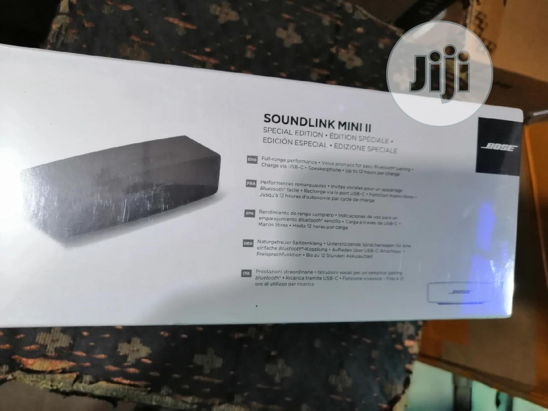 Bose Soundlink Mini Ii Special Edition Bluetooth Speaker | Audio & Music Equipment for sale in Ikeja, Lagos State, Nigeria