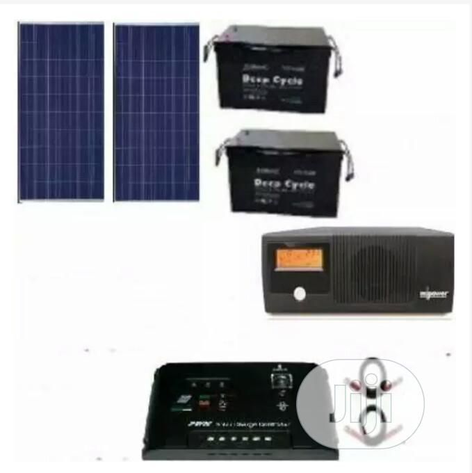 2.4kva Mpower Complete Solar Kits,2batteries ,2solar Panels