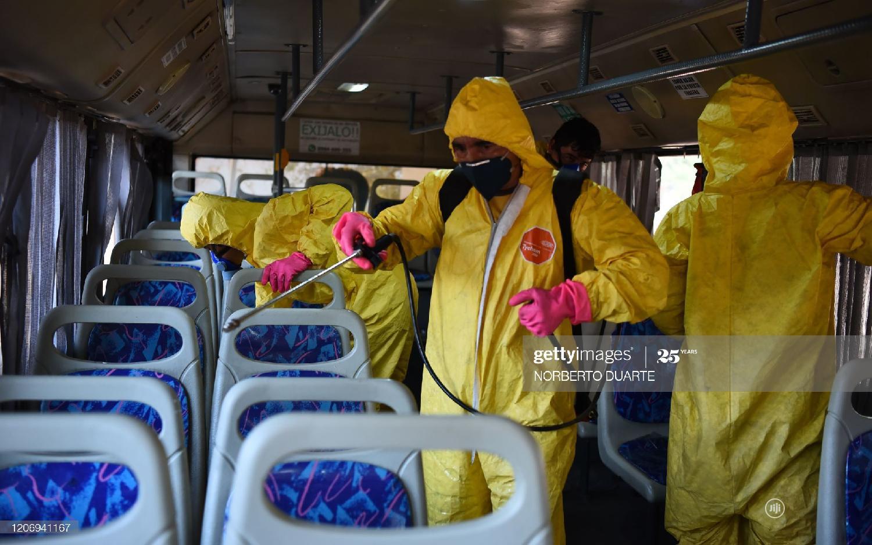 Luxurious Busses Fumigation Service