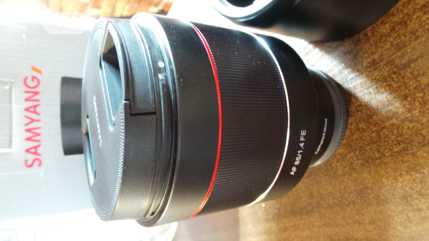 Samyang Lens Af 85mm F1.4 Fe for Sony Cameras | Accessories & Supplies for Electronics for sale in Alimosho, Lagos State, Nigeria