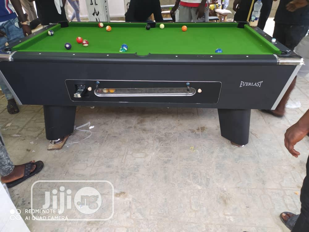 8ft Coin Snookerboard With Complete Accessories