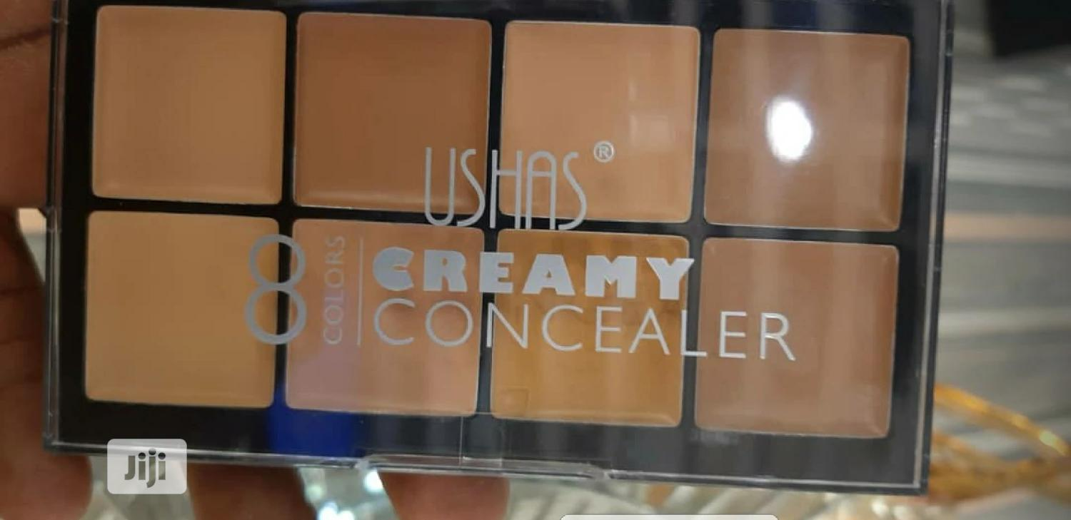 Archive: USHAS 8 In 1 CONCEALER PALETTE.