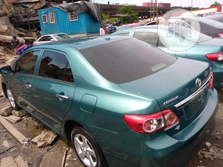 Toyota Corolla 2010 Green   Cars for sale in Apapa, Lagos State, Nigeria
