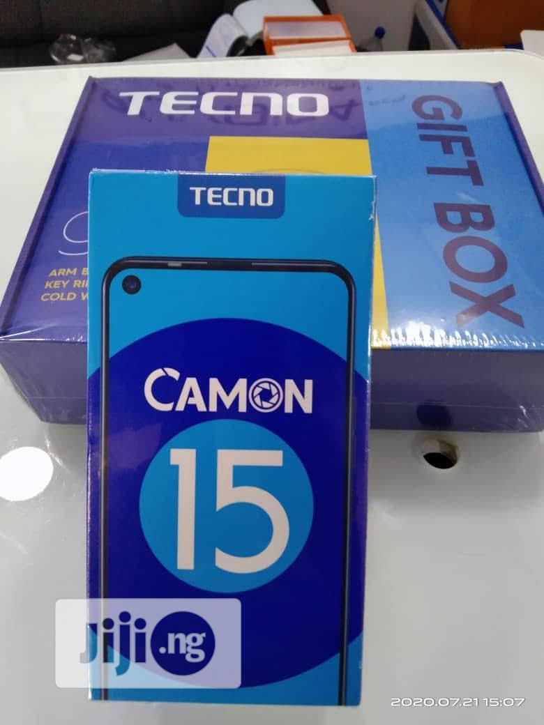 New Tecno Camon 15 64 GB Gold | Mobile Phones for sale in Garki 2, Abuja (FCT) State, Nigeria