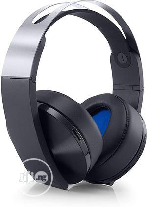Sony Playstation Platinum Wireless Headset | Headphones for sale in Lagos State, Shomolu