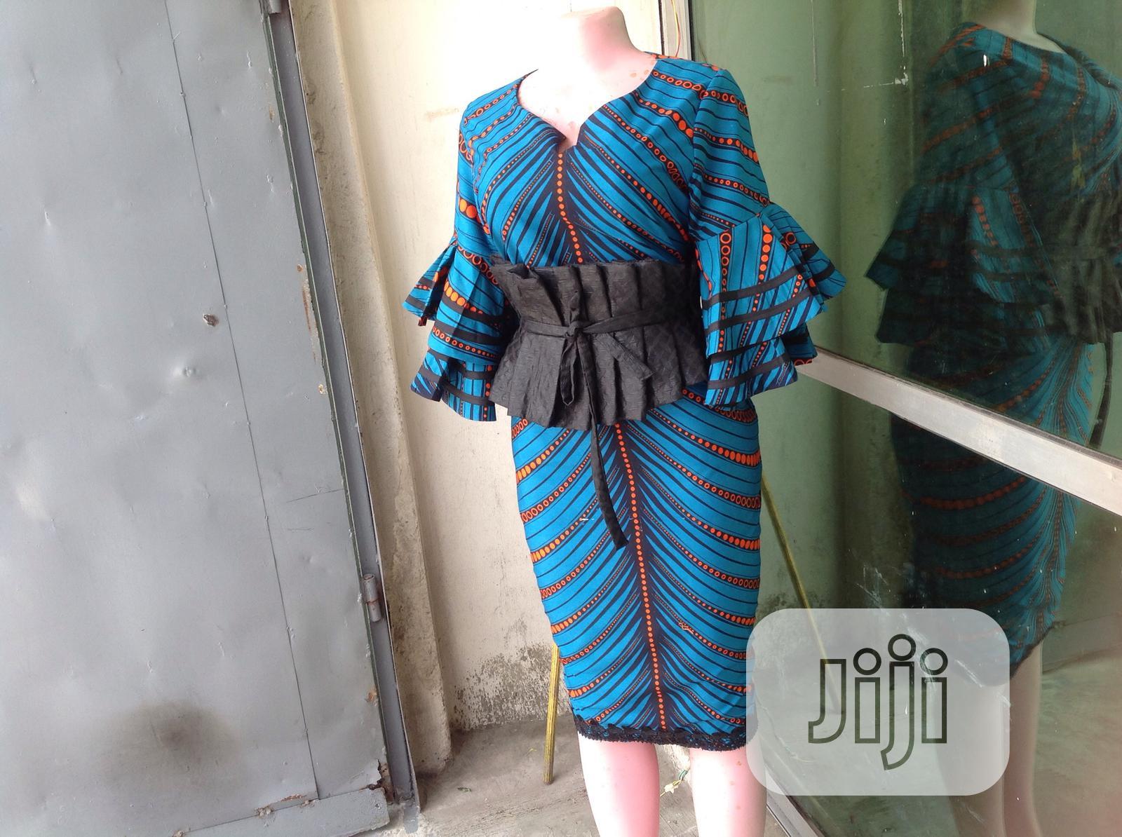 Beautiful Ankara Dress   Clothing for sale in Surulere, Lagos State, Nigeria