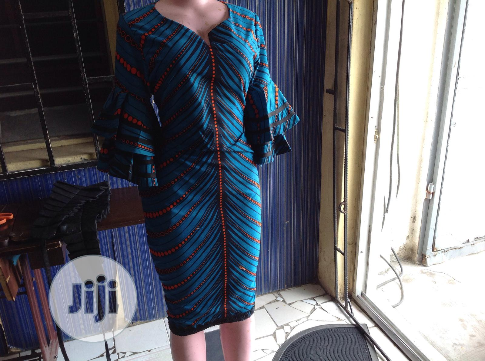 Beautiful Ankara Dress   Clothing for sale in Ajah, Lagos State, Nigeria