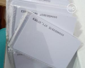 RFID Proximity Cards White PVC ID Card For Door Entry Access | Doors for sale in Lagos State, Ikeja