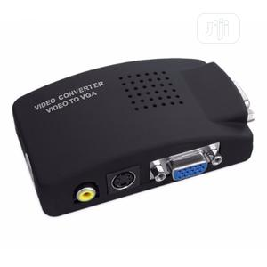 Av to Vga Converter Adapter   Accessories & Supplies for Electronics for sale in Lagos State, Lagos Island (Eko)