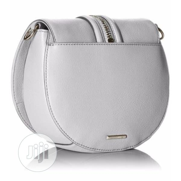 Rebecca Minkoff Handbag Saddle Pebble Leather Crossbody Bag | Bags for sale in Ikeja, Lagos State, Nigeria