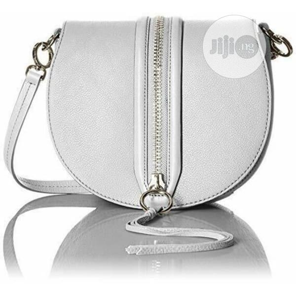 Rebecca Minkoff Handbag Saddle Pebble Leather Crossbody Bag