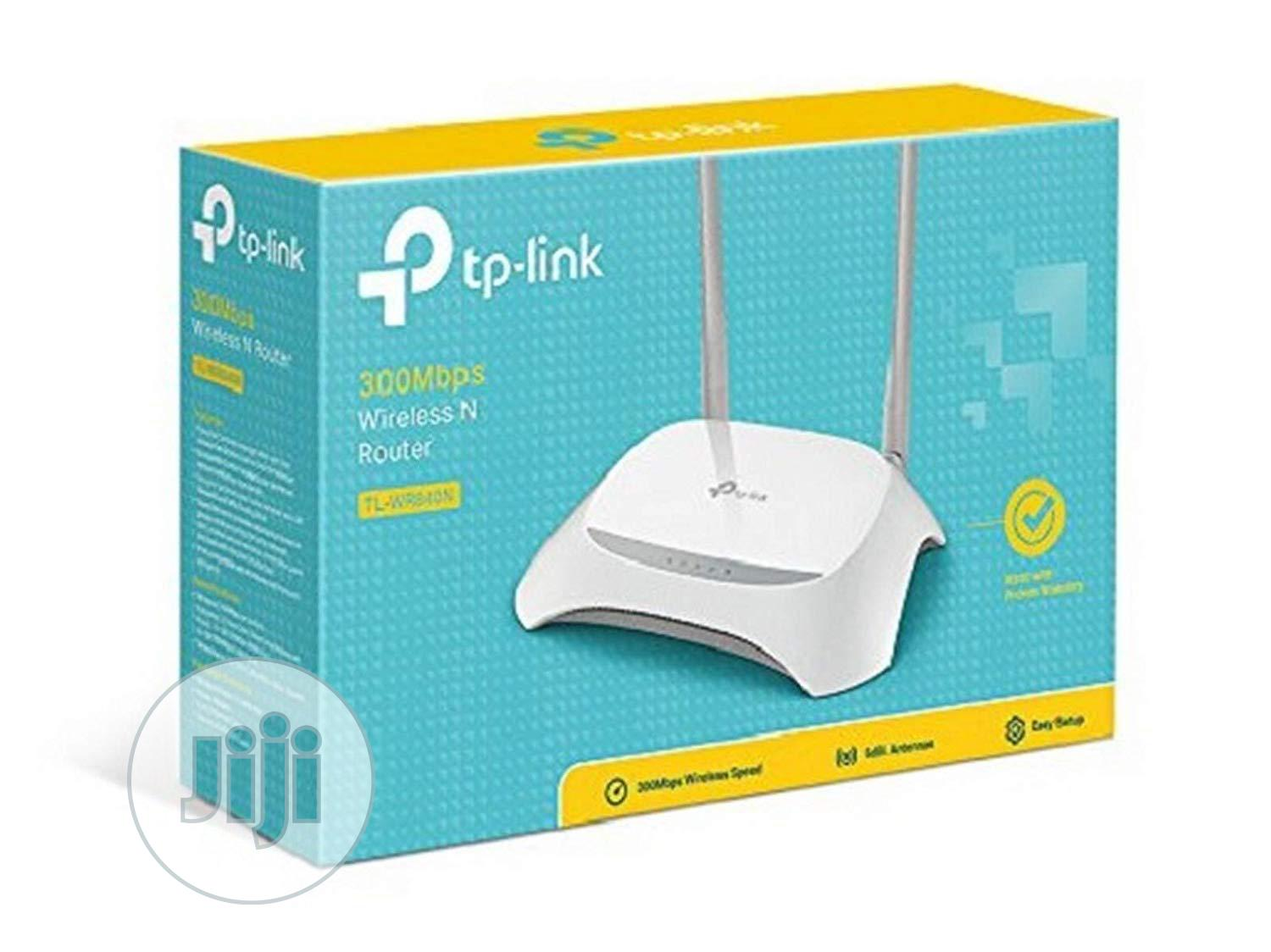TP-LINK TL-WR840N 300mbps Wireless N Router (Not A Modem) | Networking Products for sale in Ikeja, Lagos State, Nigeria