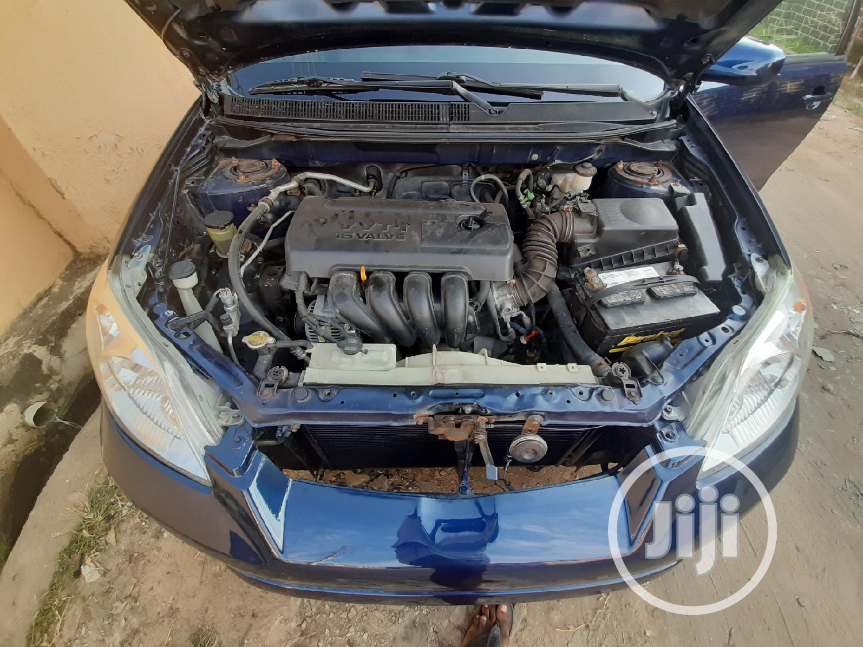 Archive: Toyota Matrix 2006 Blue
