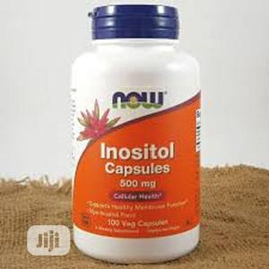 Now Foods, Inositol Capsules, 500 Mg, 100 Veg Capsules | Vitamins & Supplements for sale in Lagos State, Ipaja
