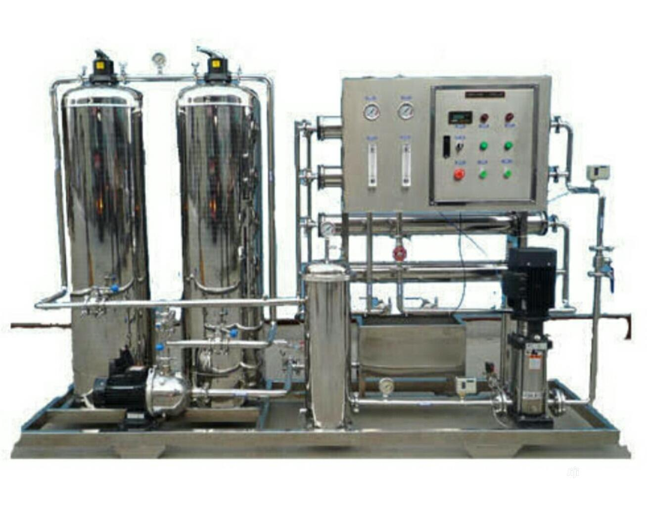 1000L Reverse Osmosis Water Treatment Plant