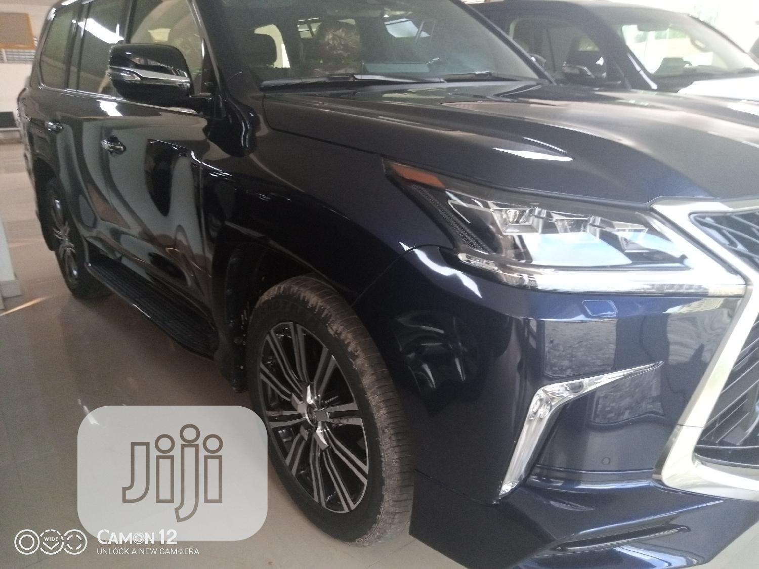 New Lexus LX 2019 570 Three-Row Blue   Cars for sale in Central Business Dis, Abuja (FCT) State, Nigeria