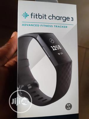 Fitbit Charge 3 Fitness Tracker | Smart Watches & Trackers for sale in Lagos State, Ikeja