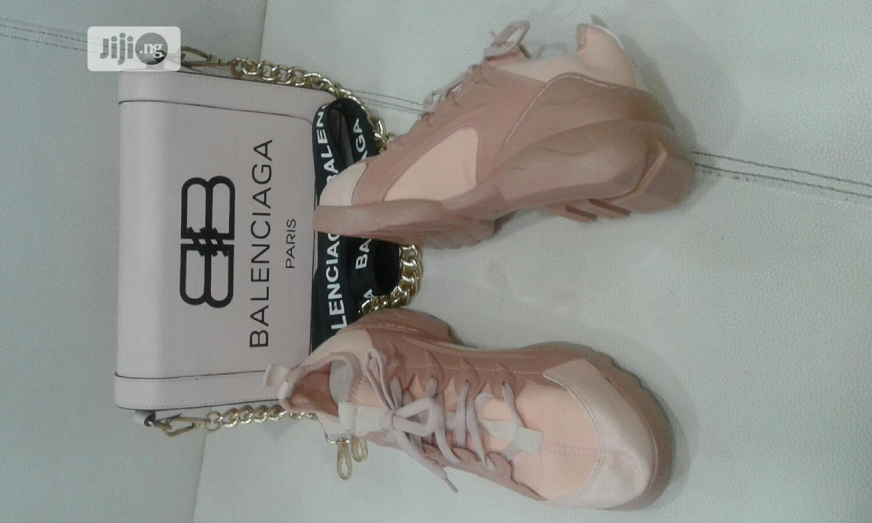 Balenciaga Bag And Shoe