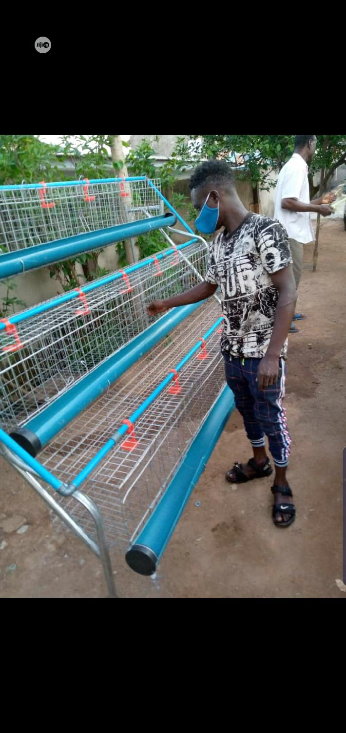 Quality Galvanized Battery Cage Seller In Nigeria