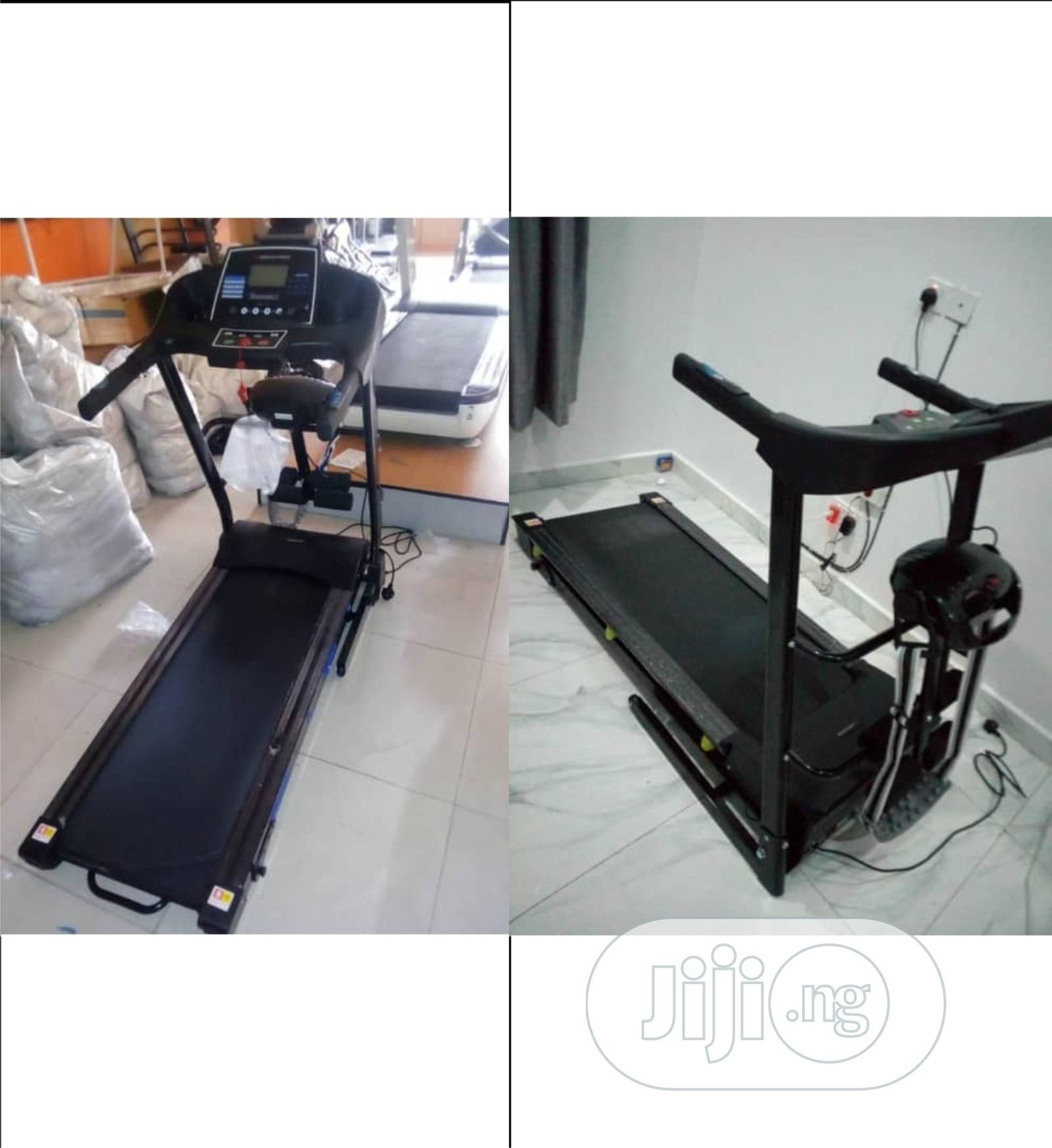 2hp Treadmill With Massager American Fitness Brand