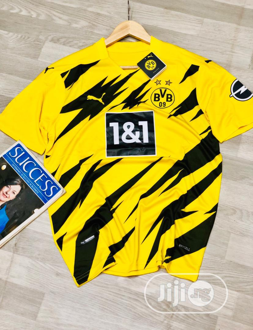 Borussia Dortmund 2020 21 Season Official Home Jersey In Central Business Dis Clothing Rash Jersey Boss Collection Jiji Ng