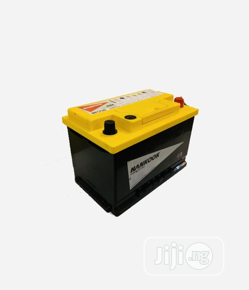 Archive: MF 75A Hankook Car Battery (Other Sizes Available)