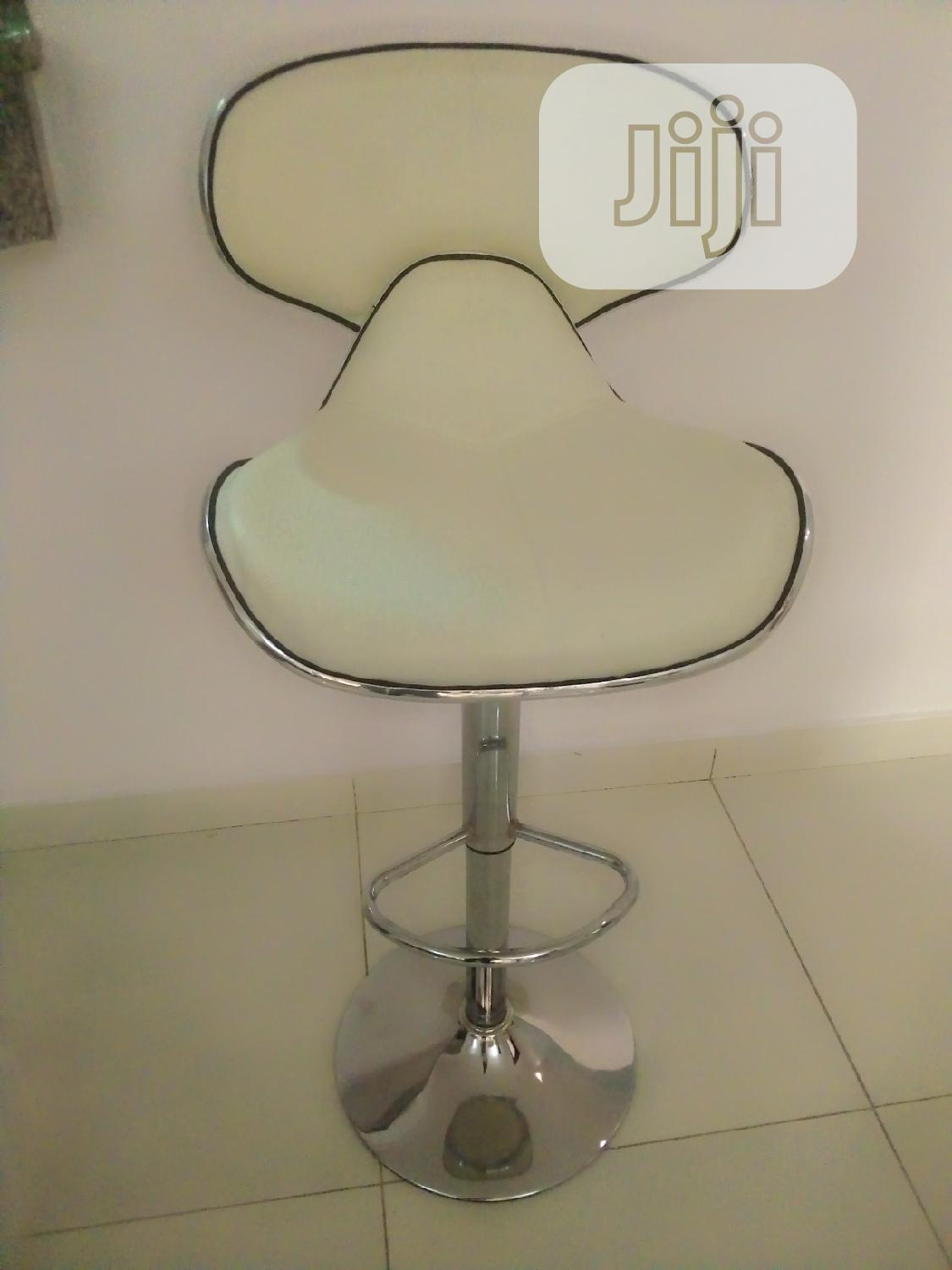 Archive: Unique Swivel Bar Stool With Backrest.