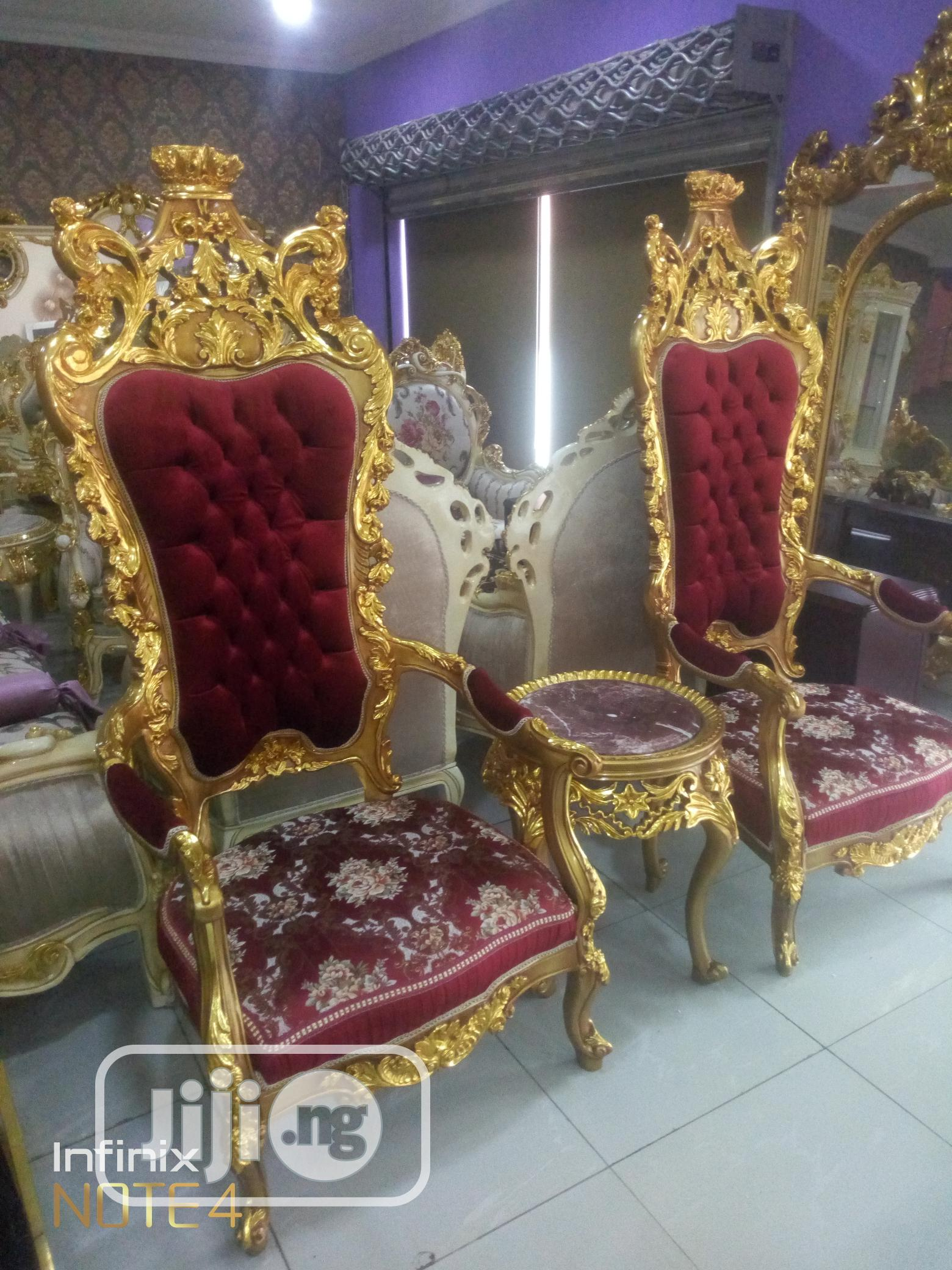 Quality Royal Console Chair and Table