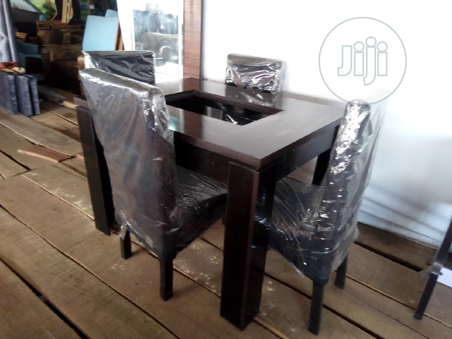 Archive: Four Seater Dining Set