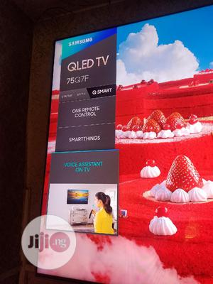 Samsung Smart 75inch Qled TV, 75Q7F | TV & DVD Equipment for sale in Lagos State, Ojo