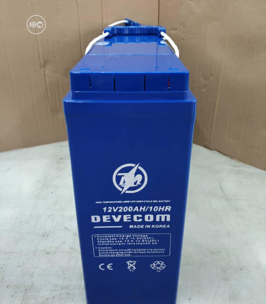 200ah Slim Davecom Battery