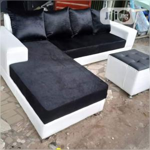 Set of L-Shaped Sofa With an Ottoman   Furniture for sale in Lagos State, Gbagada