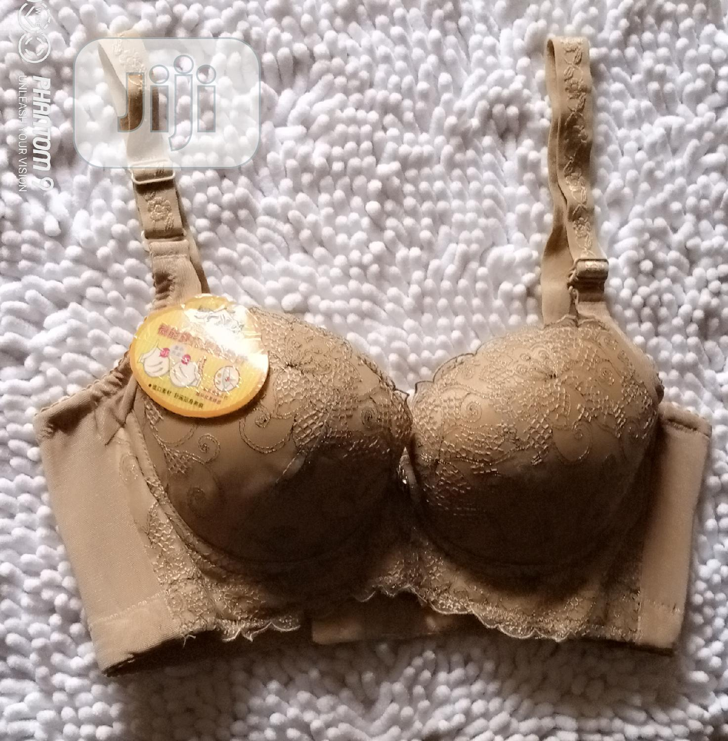 Gold Patterned Classy Bra For Sale