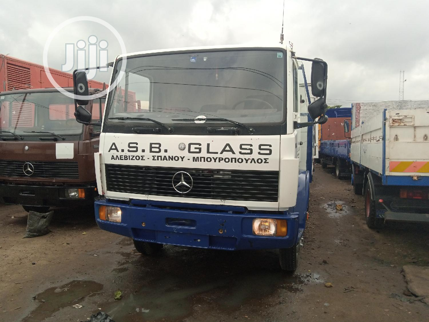 Mercedes Benz Truck 814 White | Trucks & Trailers for sale in Apapa, Lagos State, Nigeria