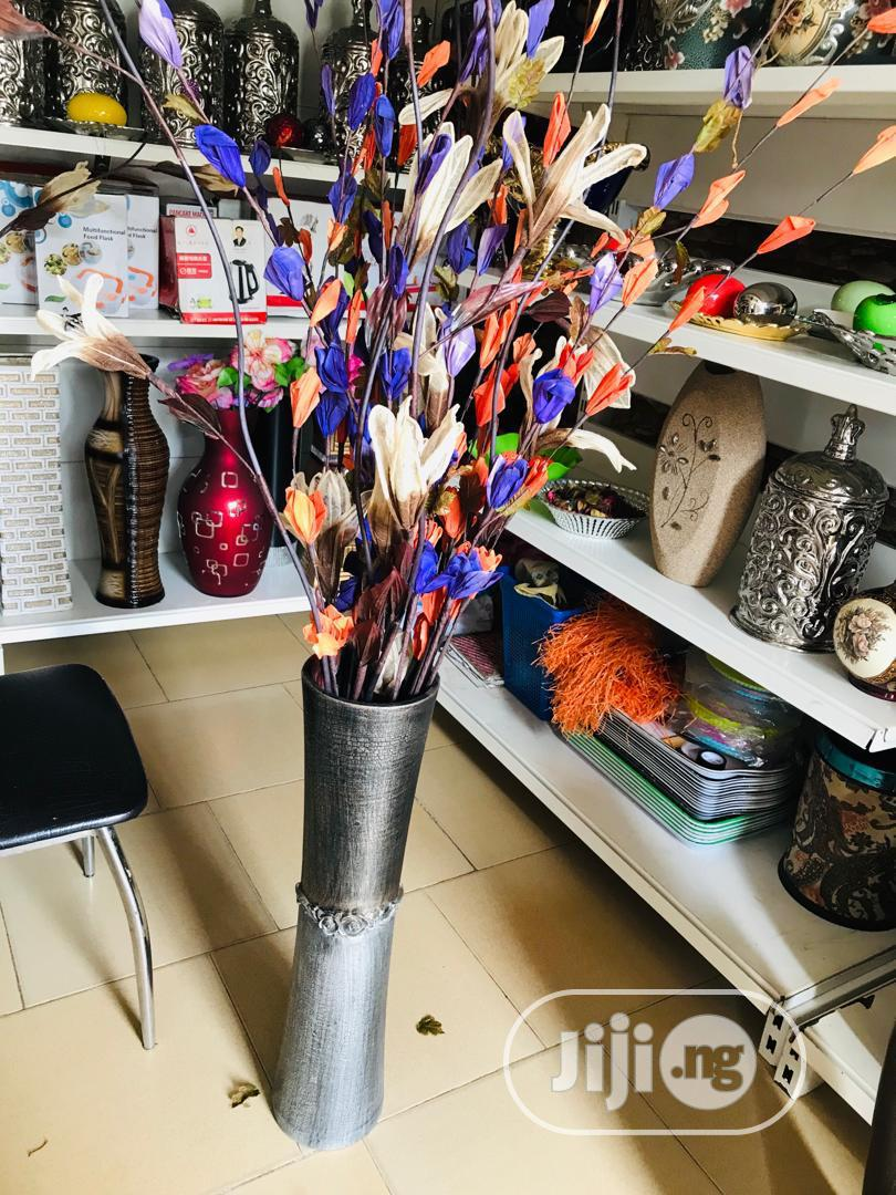 Flower Vase and Flowers