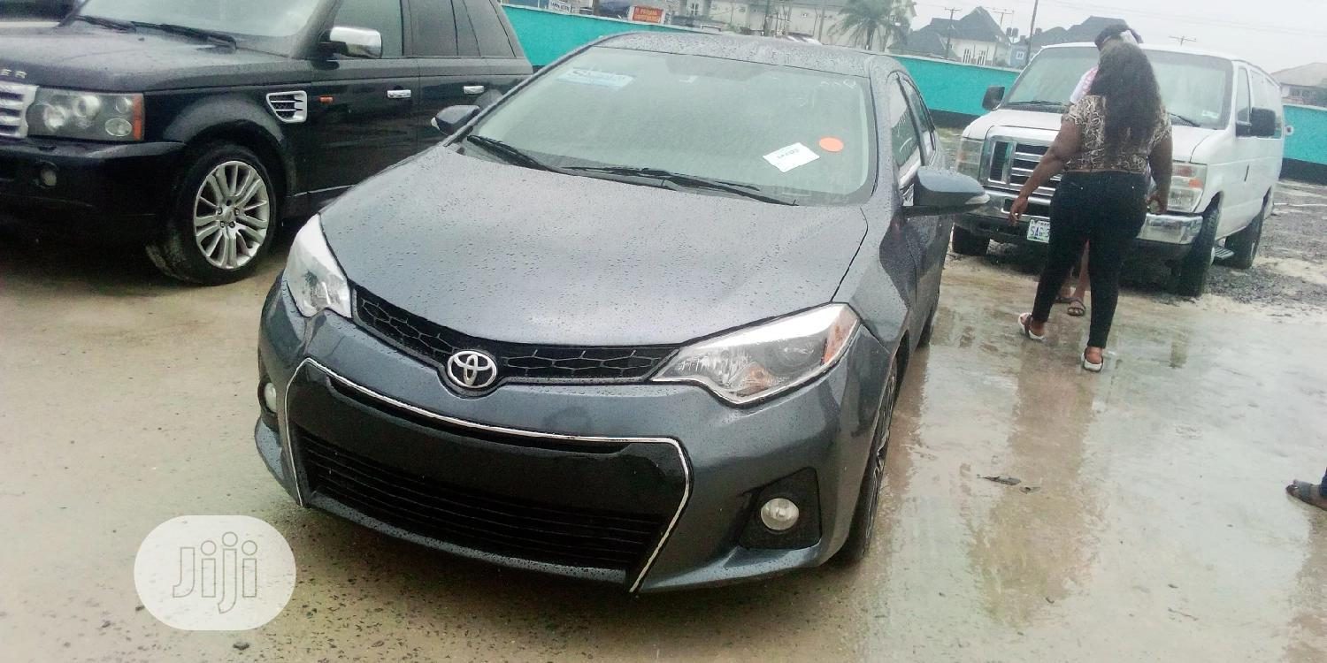 Toyota Corolla 2014 Gray In Port Harcourt Cars Prince Lechilton Jiji Ng For Sale In Port Harcourt Buy Cars From Prince Lechilton On Jiji Ng