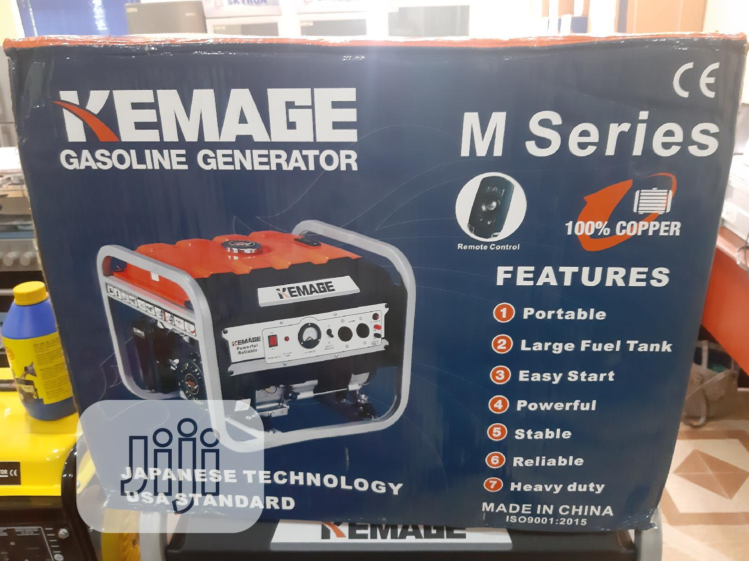 Kemage Generator 3.8k Kva With Remote Control