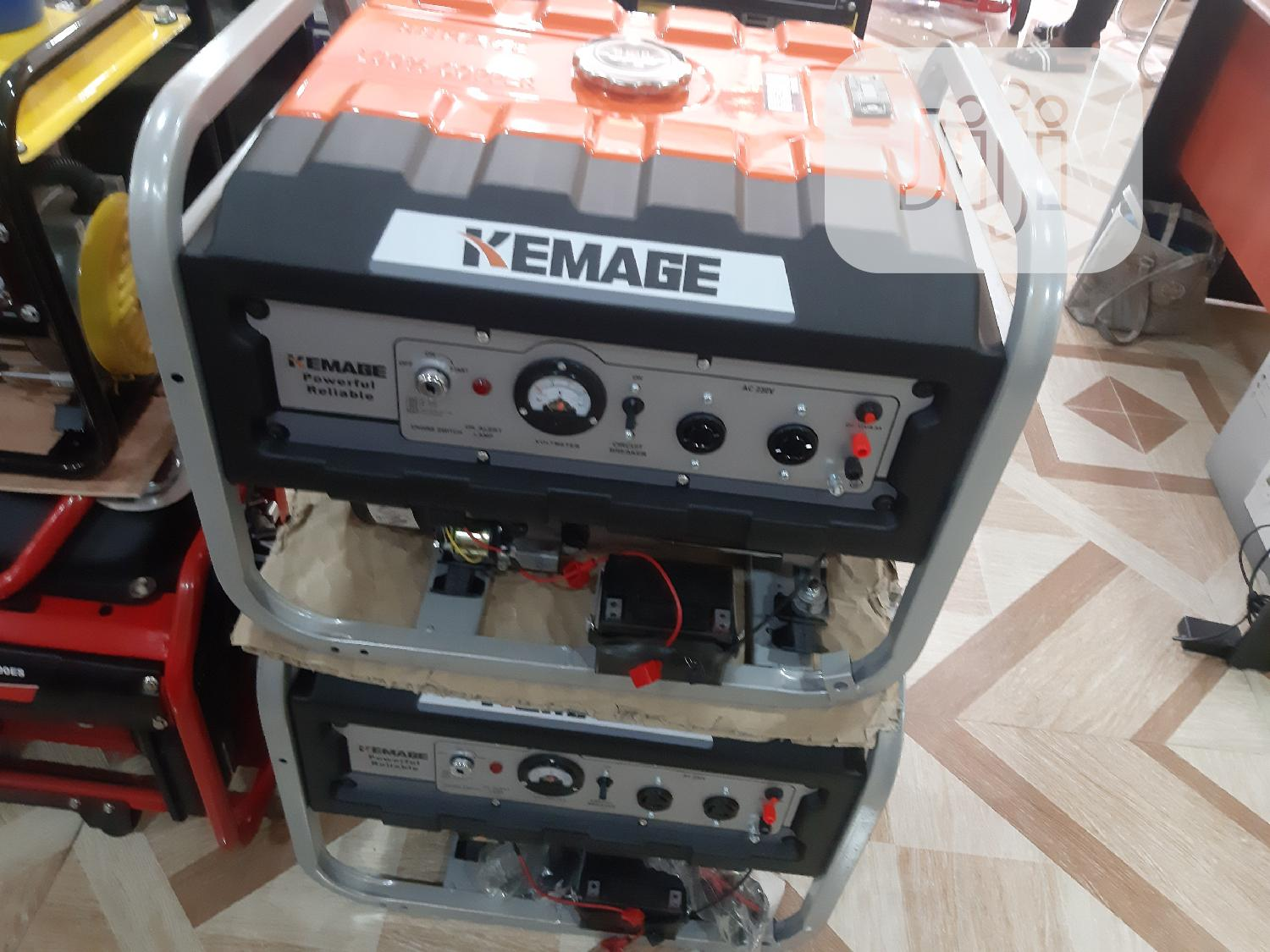 Kemage Generator 3.8k Kva With Remote Control | Electrical Equipment for sale in Wuse 2, Abuja (FCT) State, Nigeria