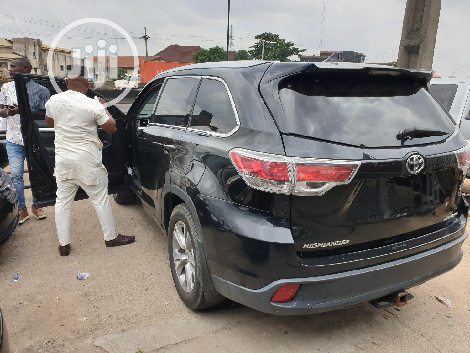 Toyota Highlander 2015 Black | Cars for sale in Ikeja, Lagos State, Nigeria