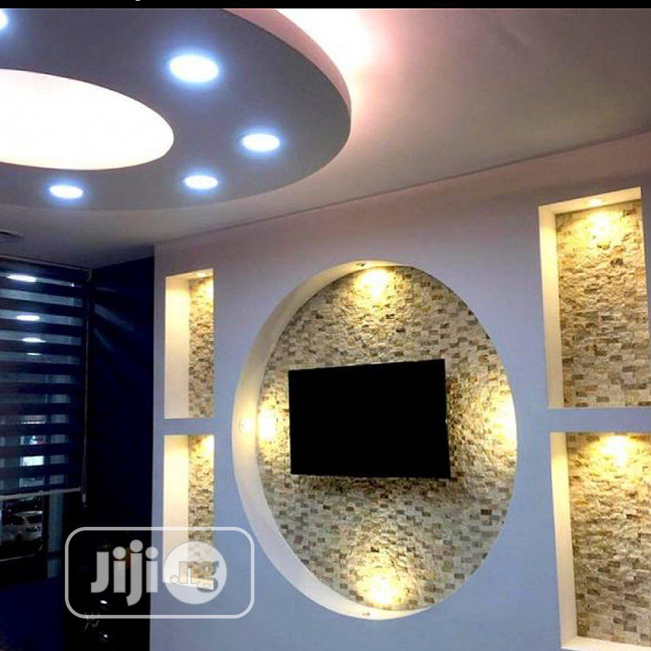 Pop Wall Design An Interior Decorators | Building & Trades Services for sale in Lagos Island, Lagos State, Nigeria