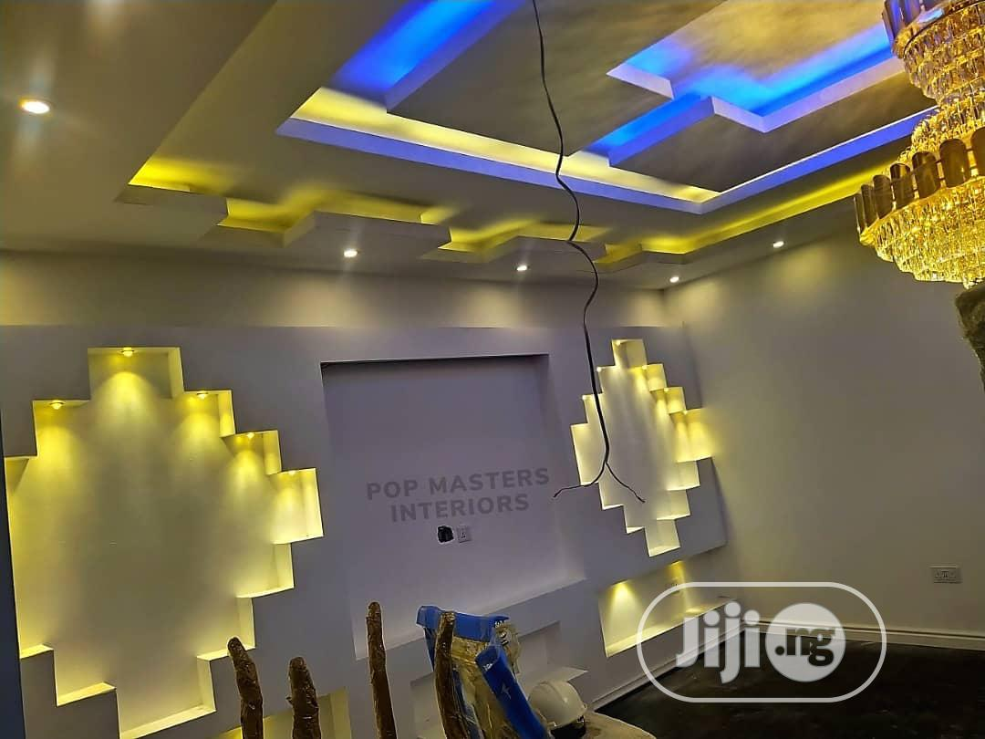 3d Panel Pop Ceiling House Painting
